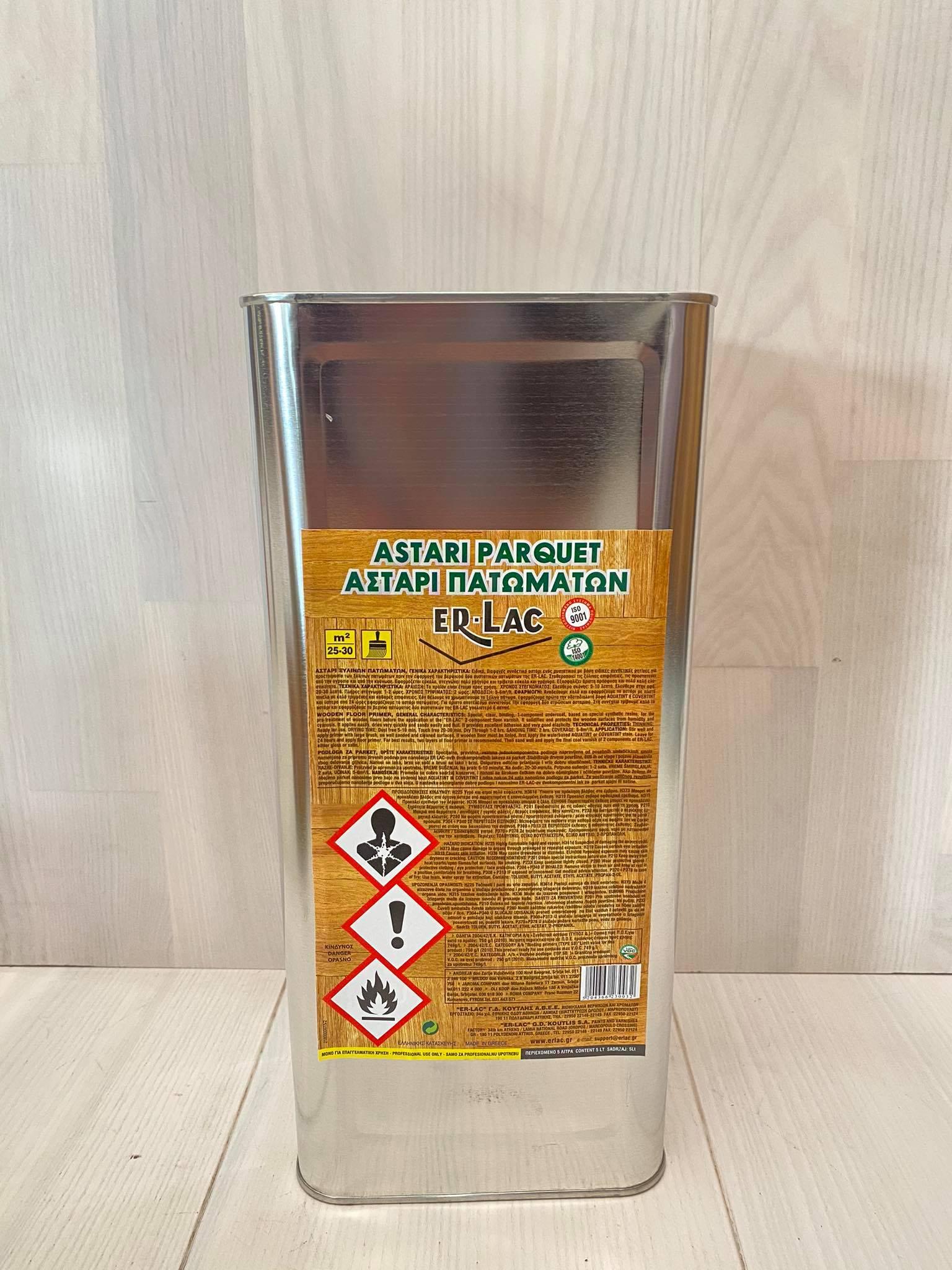 Αστάρι πατώματος Er-Lac διαλύτου 5L