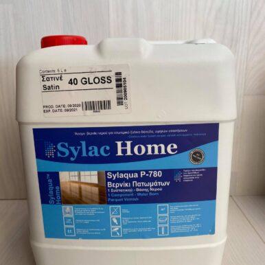Βερνίκι πατώματος Sylac νερού ενός συστατικού σατινέ 5L