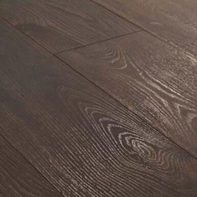 Karras - Krono Swiss - Πάτωμα Laminate Solid Chrome σκούρο καφέ απόχρωση Leysin Oak