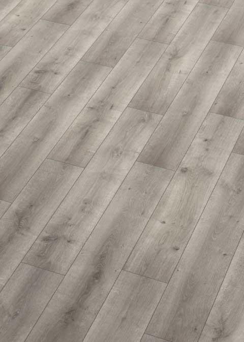 Karras - Ter Hürne - Πάτωμα Laminate Classic Line γκρι ποντικί απόχρωση Oak Flannel Grey
