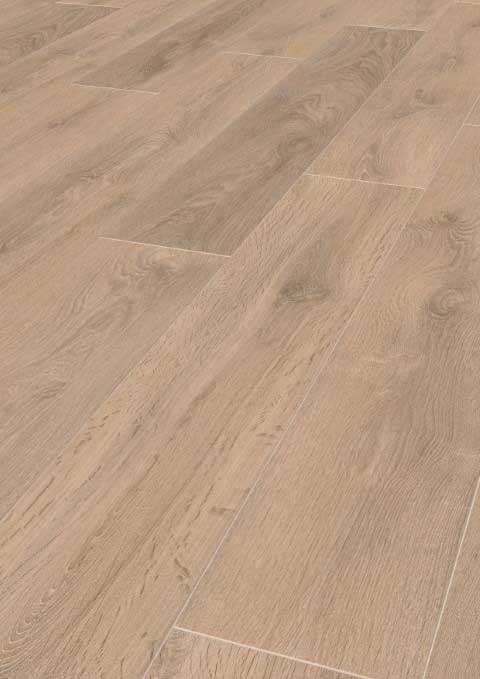 Karras - Ter Hürne - Πάτωμα Laminate Classic Line καθαρό γκρι μπεζ απόχρωση Oak Sand Brown