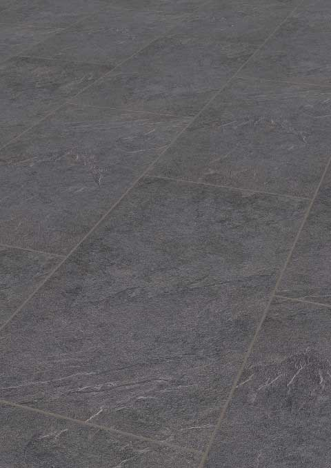 Karras - Ter Hürne - Πάτωμα Laminate Trend Line ανθρακί τσιμέντο απόχρωση Stone Anthracite Grey