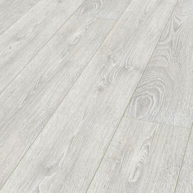 Karras - Krono Swiss - Πάτωμα Laminate Kronotex Robusto γκρι με λευκά νερά απόχρωση Capital Oak Light