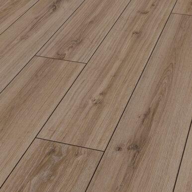 Karras - Krono Swiss - Πάτωμα Laminate Kronotex Robusto μπεζ μόκα απόχρωση Saverne Oak