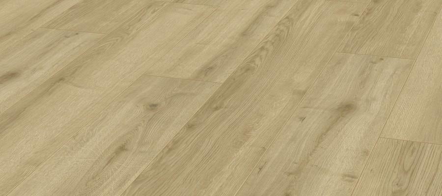 Karras - Krono Swiss - Πάτωμα Laminate Kronotex Robusto μπεζ ανοιχτό απόχρωση Adaja Oak