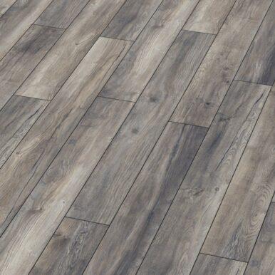 Karras - Krono Swiss - Πάτωμα Laminate Kronotex Robusto γκρι σκουριά  απόχρωση Harbour Oak Grey